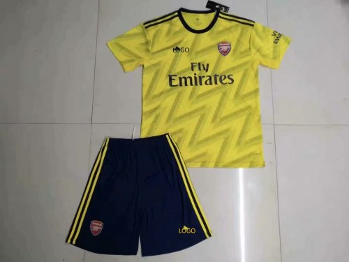 watch 69929 8bc37 2019/20 Adult AAA Quality Arsenal away yellow soccer/football uniforms