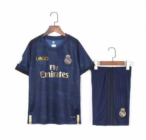 pick up 1fc32 00b45 2019/20 kid AAA quality real madrid away soccer uniforms