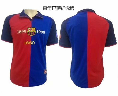 best sneakers a1d7b 841a9 1899-1999 Adult thai version Barcelona retro soccer shirt football jersey  Fútbol