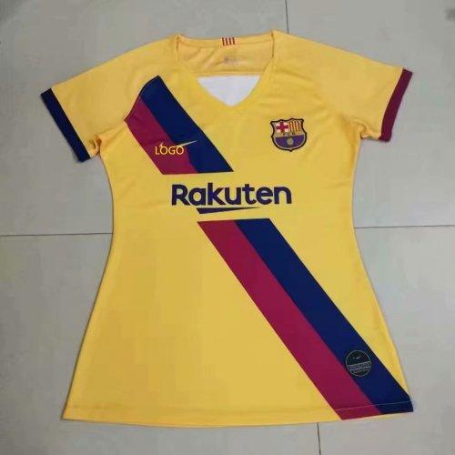 promo code f596a c963f 2019/20 women fan version Barcelona away soccer jersey football shirt Fútbol