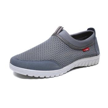 SHWM052-2018 Plus men Casual Shoes Breathable Men Summer Shoes Comfortable Men Shoes Slip -shoes