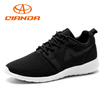 FY1602-QIANDA Light Running Shoes Cushioning DMX Man Sneakers Spring and Autumn Breathable Lace Up Mesh Sport Shoes Men 5-10KM Marathon