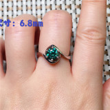 Gold Silver Color Finger Rings For Women Metal Jewelry Female Geometric Ring Jewellery bagues pour femme