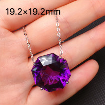 Fine Jewelry Natural Jade Medullary Necklace Pendant Carved diamond Love Best Wishes Women Men Jewelry