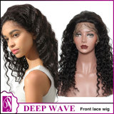 Front lace wig deep
