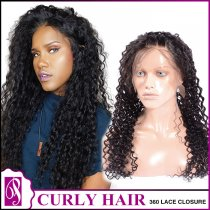 360 Curly Lace Closure