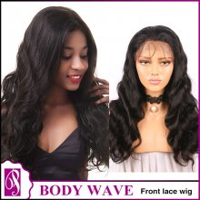 Front lace wig body