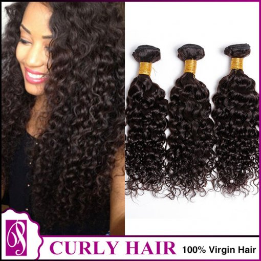 8A  Curly  300g/3bundles