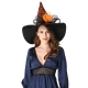 Sdsaena Women's Luxury 17.5  High Halloween Witch Hat Adult