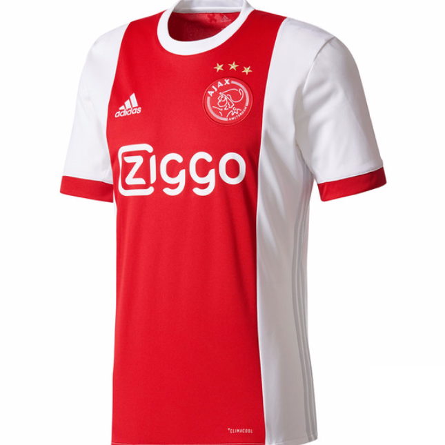 03cb291135c Ajax 2017-2018 Home Soccer Jersey AAA Thailand Quality Cheap Discount  Football Shirt Wholesale Online Free Shipping