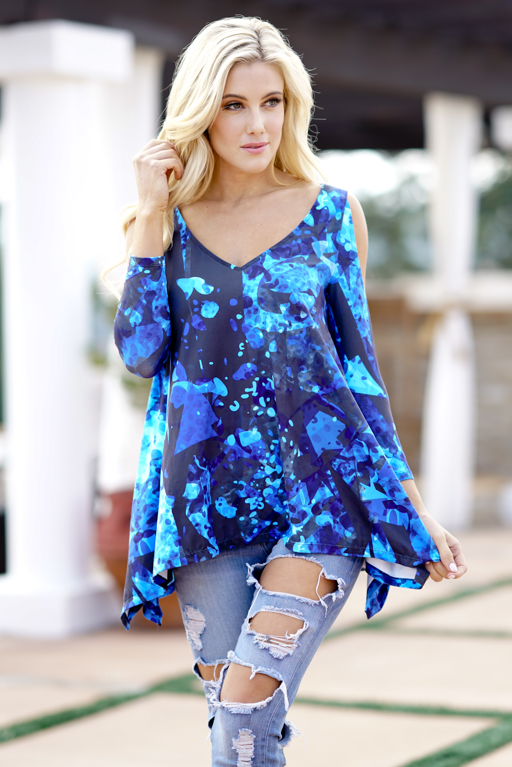 Outlet wholesale store wholesale ladies fashion cold for Ladies shirts and tops blouses