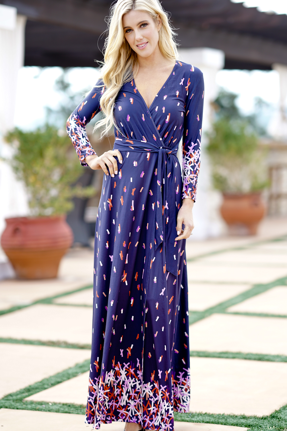 Outlet wholesale store - 2018 Spring Long Maxi Dresses Casual ...
