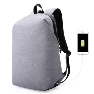 OneBling Full Hidden Zipper Anti-theft Backpack Large Capacity School Bag Travel Backpack Business USB Rechargeable Laptop Bag