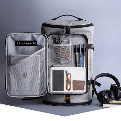 OneBling Large Capacity Men Backpack Waterproof Travel Bag Handbag School Bag Laptop Bag