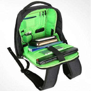 OneBling Large Capacity Waterproof Men Backpack USB Charging Port Laptop Bag Anti-theft School Bags Patchwork Women Backpack Business Bag