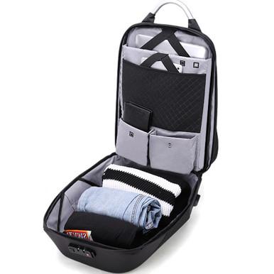 OneBling High Capacity Business Backpack External USB Port Laptop Bag Security Lock Anti-theft Waterproof College Bag