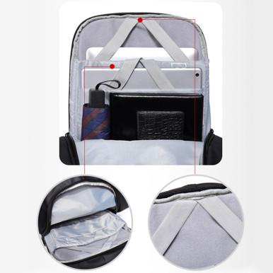 OneBling USB Charging Port Laptop Bag Waterproof Casual Travel Backpack Large Capacity Men School Bag