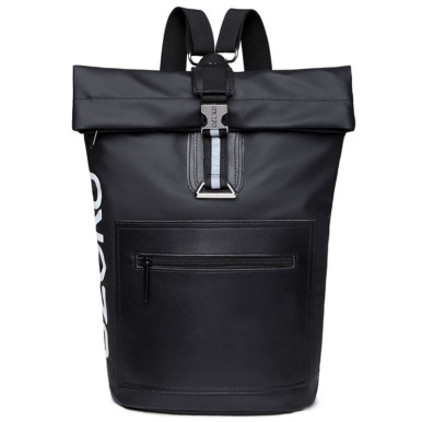 OneBling Anti-theft Chest Bag Patchwork Men Backpack Large Capacity Travel Bag Student Bag Outdoor Sports Cycling Backpack