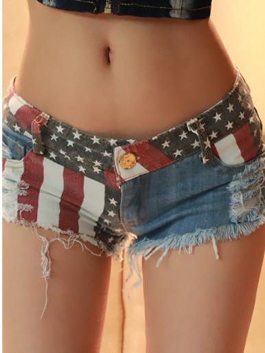 OneBling Jeans Shorts Summer Sexy Women Denim Shorts