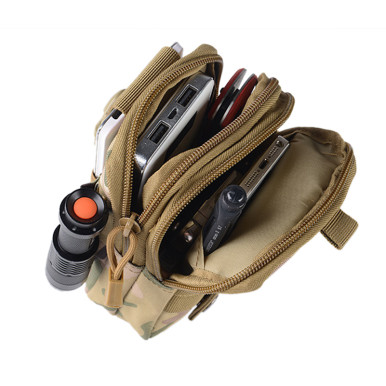 OneBling Waterproof Wear-Resistant Nylon Waist Bag Without Waistband