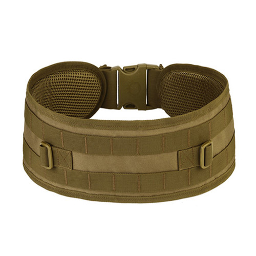 OneBling Outdoor Tactical Field Game Belt Widens Thickened Molle Girdle Adjustable Waistband