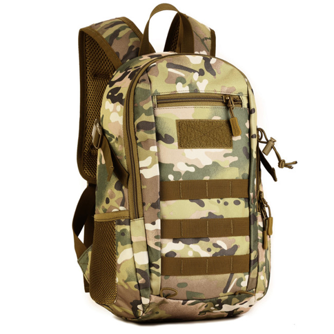 OneBling 12L Waterproof Nylon Backpack Outdoor Sports Bags External Nylon Webbing Hanging System