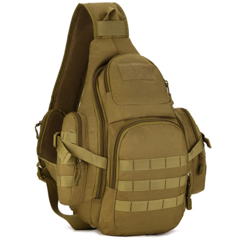 OneBling Sling Bag Outdoor Sports Bags Shoulder Bag Cycling Chest Bag Wear-Resistant Nylon Crossbody Bag