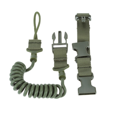 OneBling Military Safety Quick Release Line Two Point Rifle Sling Tactical Protective Rope for Outdoor Activities