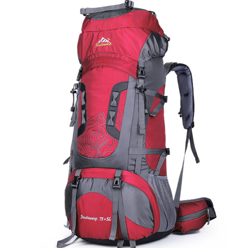 OneBling 75+5L Oversized Capacity Backpack Waterproof Hiking Climbing Luggage Bag Outdoor Sports Bags
