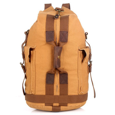 OneBling Oversized Capacity Canvas Backpack Climbing Travelling Luggage Bag Outdoor Sports Bags Handbag