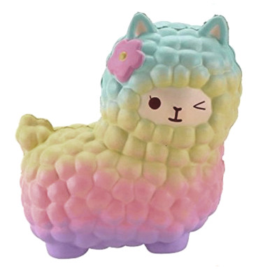 OneBling Alpaca Doll Squishy Slow Rising Decompression Squeeze Toys Decorative Props