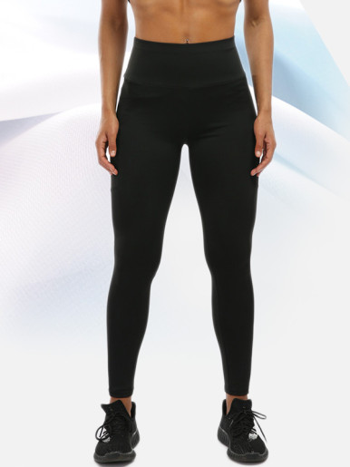 OneBling Side Pocket Leggings with Wide Waistband