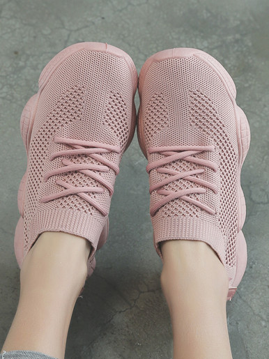 OneBling Summer Knitted Sock Sneakers Walking Shoe
