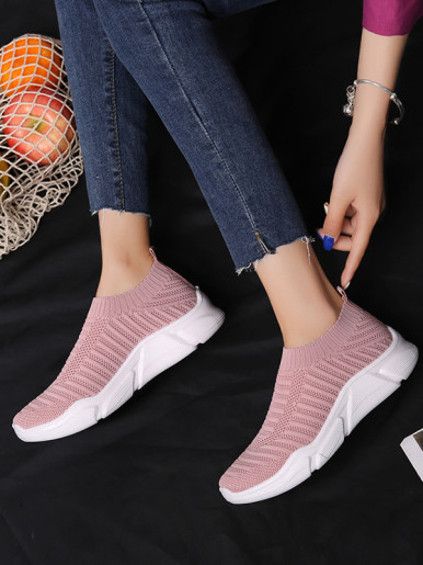 OneBling Summer Sock Trainers with Chunky Sole Women