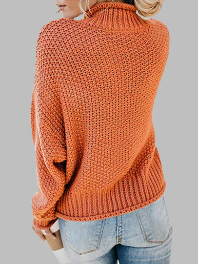 OneBling Aran Weight Women Turtleneck Sweater 2019 Autumn Winter Female Jumper Casual Loose Ladies Knitted Long Sleeve Pullovers
