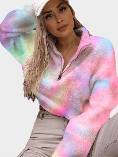 OneBling White Faux Fur Short Jackets Women Warm Fur Coat 2019 Winter Female Outwears Zipper Casual Ladies Long Sleeve Coats