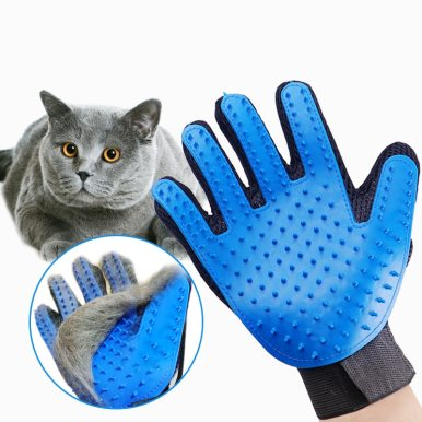 OneBling Pet Grooming Glove Cat Hair Removal Mitts For Cat Dog Horse Massage Combs Pet Supplies