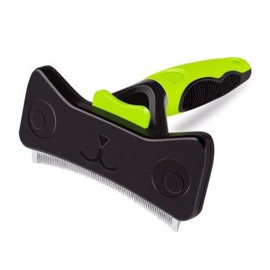 OneBling Dog Hair Remover Brush Deshedding Tool Pet Comb Grooming Brush