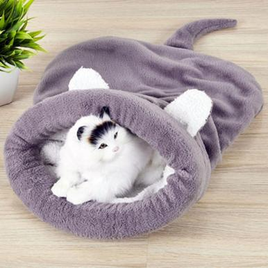 Cat Sleeping Bag Cats Beds Dog House Pet Mat