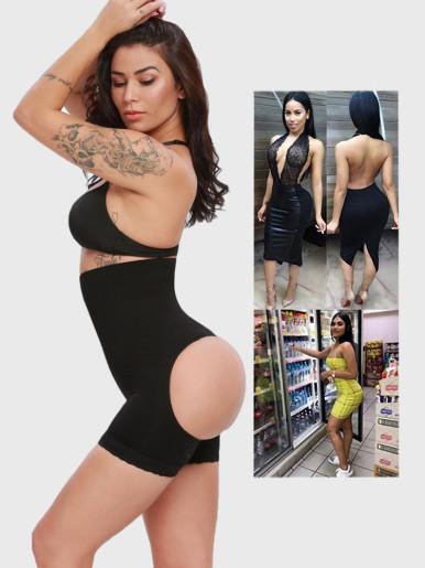 Women Panties Seamless Shapewear Body Shaper Push Up Underwear