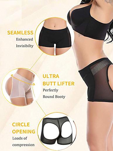 Women Control Panties Seamless Body Shaper Shapewear Push Up Briefs