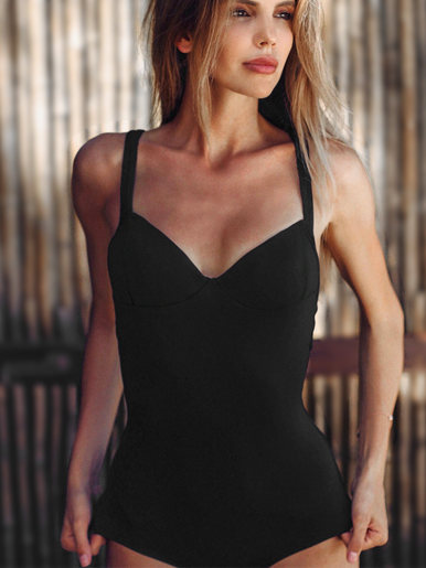 Sweetheart Cupped Bodysuit