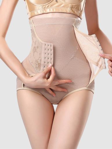 Waist Trainer Slimming Underwear Body Shapewear Women High Waist Panties Tummy Control  Butt Lift Pulling Corset Reducing Shaper