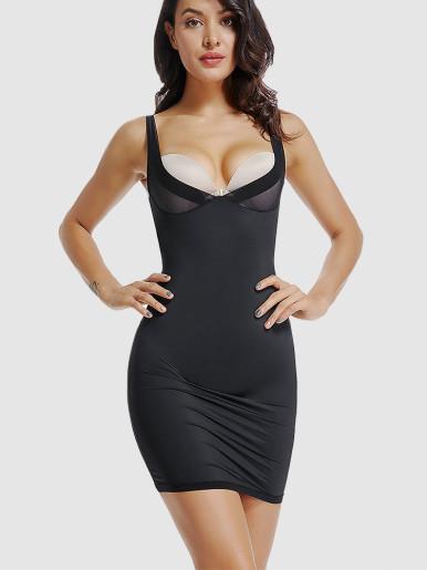 Full Body Shaper Dress Waist Trainer Slimming Shapewear Control Slips Sexy Lingerie Women Underwear Bodysuit Butt Lifter Girdle