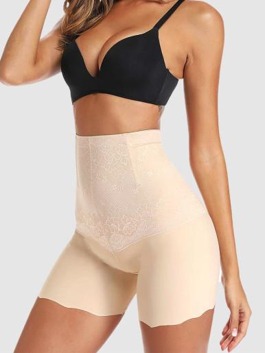 High Waist Body Shaper Women Underwear Waist Trainer Safety Short Pants Butt Lifter Shapewear Tummy Control Girdle Sexy Lingerie