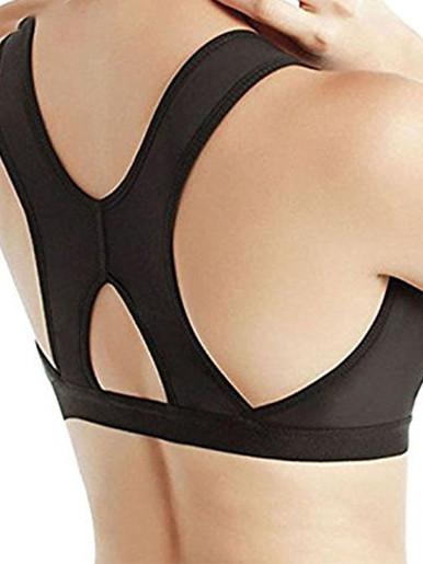 Burvogue Bras Women Seamless Padded Push Up Post-Surgery Bra Front Closure Brassiere Sexy Bra Underwear Gather Adjustable Bras