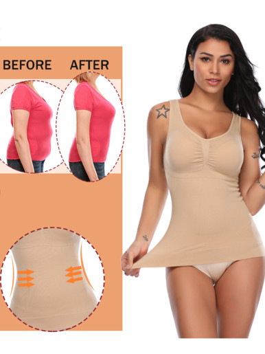 Women Camisole with Removable Padded Bra