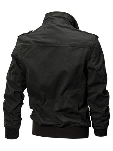 Plus Size Men Bomber Jacket