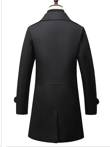 Smart Casual Men Trench Coat