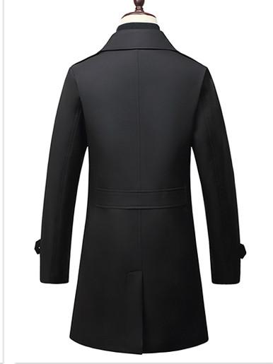 Smart Casual Men Trench Coat